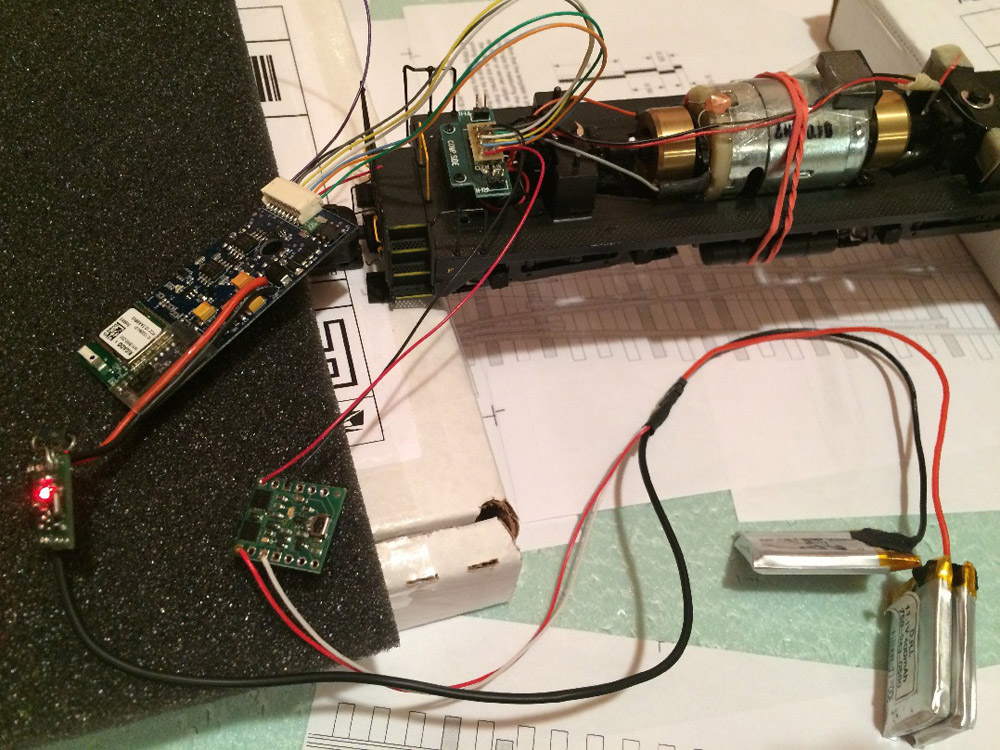 Wiring and testing the switches